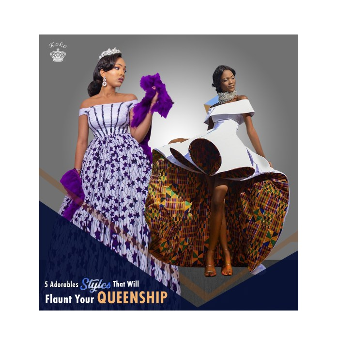 Ankara Styles: These 4 Designs Will Help Flaunt Your Queenship