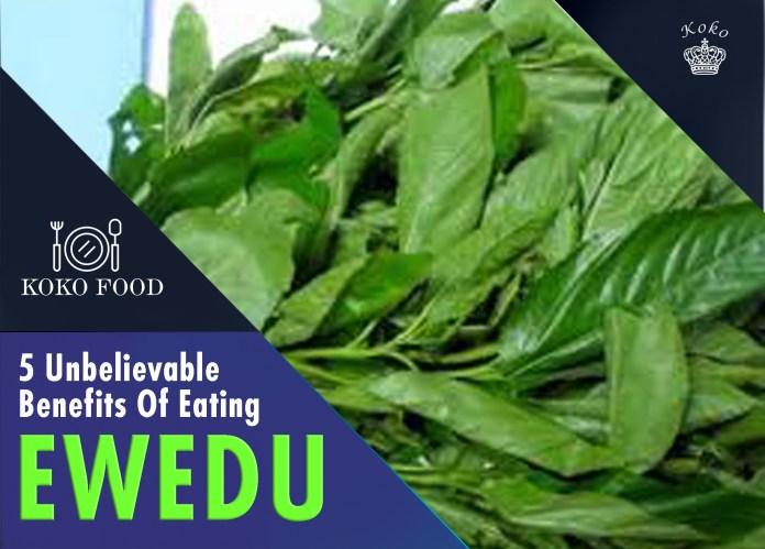 FOOD: Ewedu Wonder! 5 Unbelievable Benefits You Will Derive From Eating Ewedu