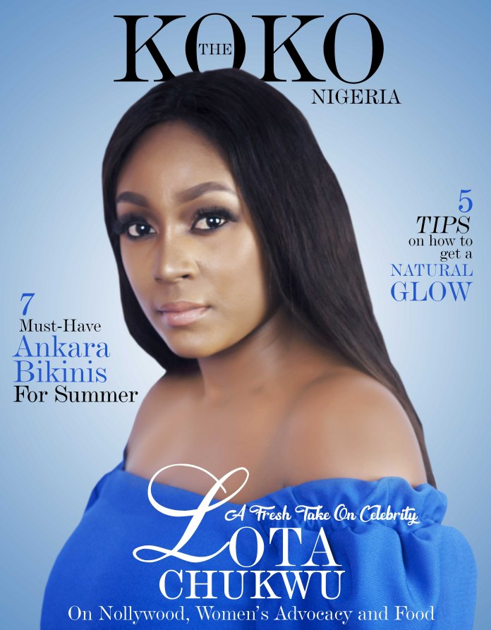 A Fresh Take On Celebrity: Nollywood Star, Lota Chukwu Covers The KOKO Magazine In All Her Stunning Glory 1
