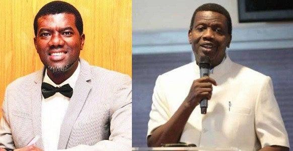 reno omokri calls out Pastor Adebayo over abduction of 5 RCCG Pastors