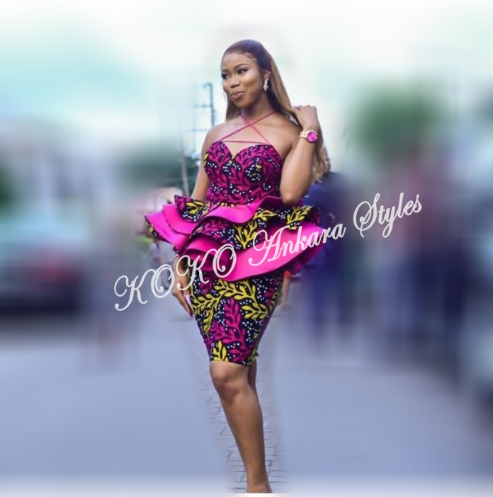 Ankara Styles: Be The Sultry Chic In These 5 Lovely Styles 1