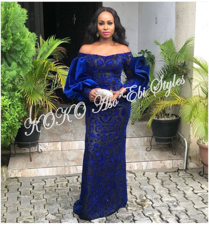 Aso-ebi: Channel Your Inner Diva In These 5 Glamorous Designs 1