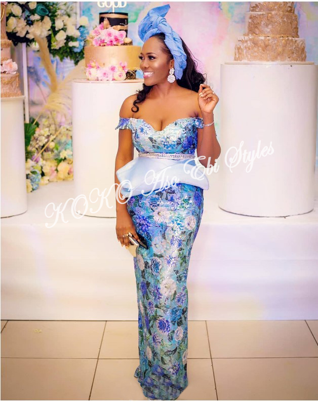 Knock Them Out In These 5 Extra Gorgeous Aso-ebi Slay 1
