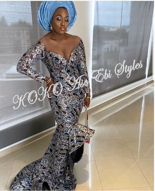 Be The Slaying Queen In These 5 Ultra-chic Aso-ebi Designs 1