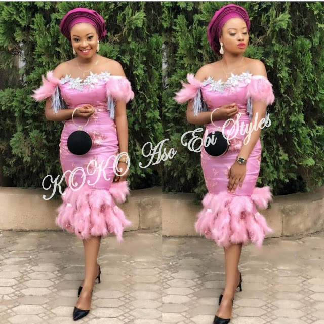 Knock Them Out In These 5 Extra Gorgeous Aso-ebi Slay 2