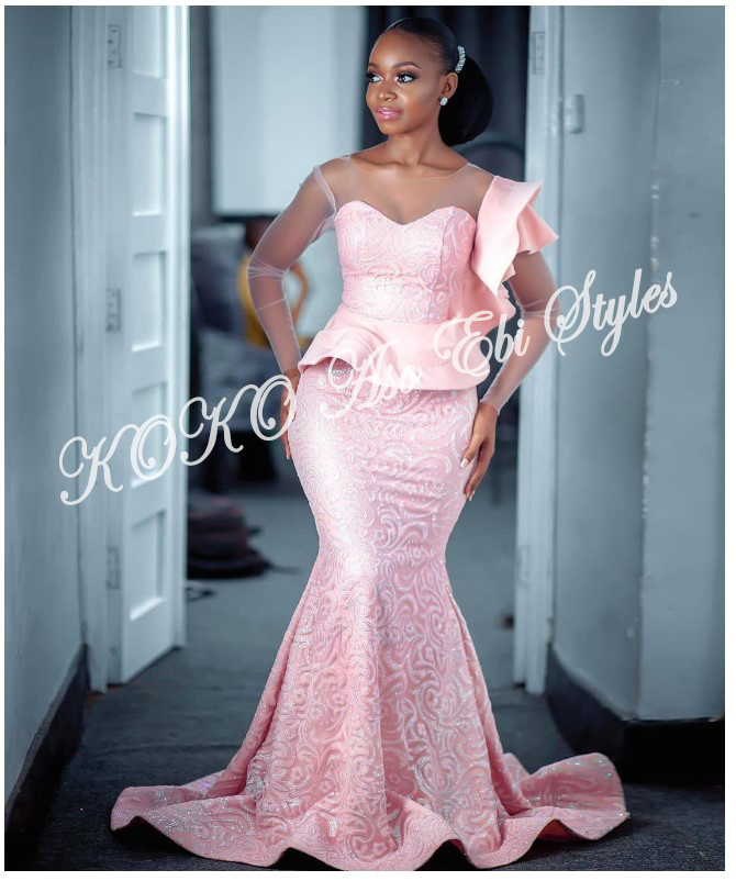 Be The Slaying Queen In These 5 Ultra-chic Aso-ebi Designs 5