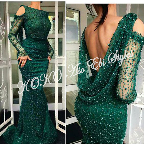 Pull On All The Glam Of The Day In These Bespoke Aso-Ebi Styles