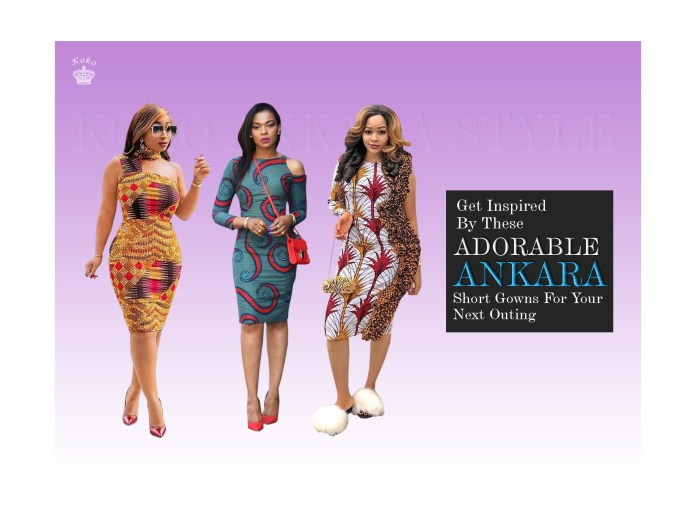 Ankara Styles: Get Inspired By These Adorable Ankara Short Gowns For Your Next Outing