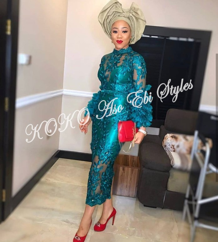 Be The Puff Queen In These 5 Fab Aso Ebi Styles With Puffy Sleeves