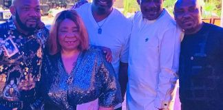 Don Jazzy Celebrates Mom's Birthday With Intimate Party