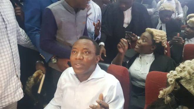 7 Days After Court Granted Him Bail, Omoyele Sowore Is Still In DSS Custody 1