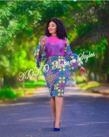 Ankara Styles: Hot Ankara Designs To Bring Out The Gorgeous Candy In You 1