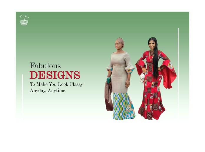 Ankara Styles: Fabulous Ankara To Make You Look Classy Anyday, Anytime