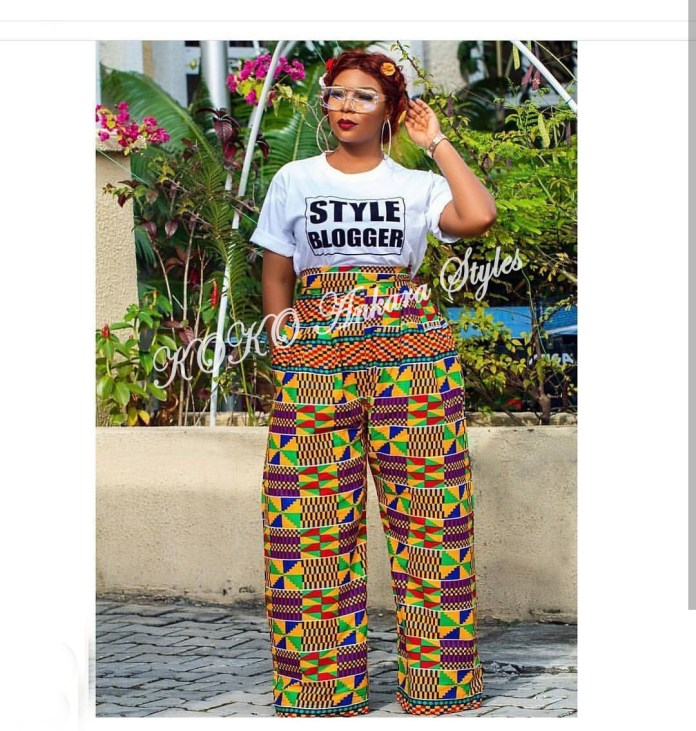 Flaunt Your Hot Legs In These 6 Ankara Trousers