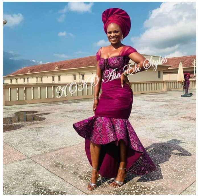 From BamTeddy With Love! 10 Hot Aso-ebi Styles From Bambam & Teddy A's Introduction 2
