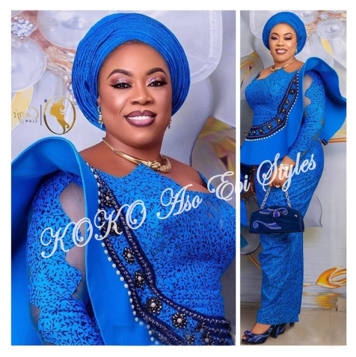 Flaunt Your Curves In These Gorgeous Aso Ebi Designs