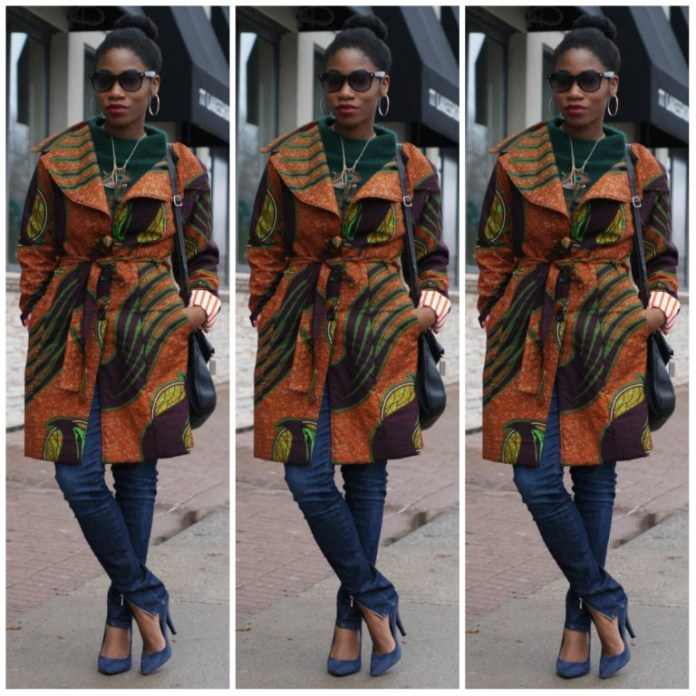8 Stylish Ways To Rock An Ankara Kimono Jacket 1