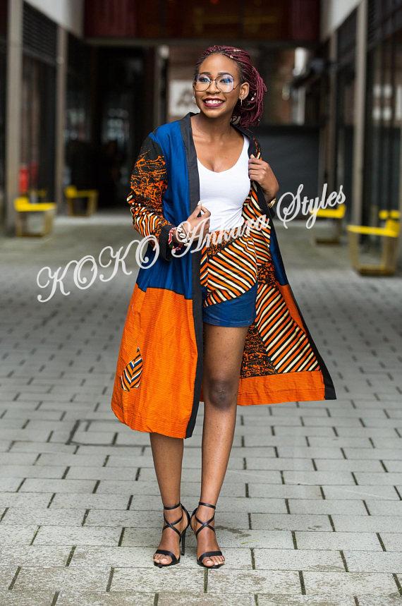8 Stylish Ways To Rock An Ankara Kimono Jacket 8
