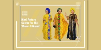Ankara Styles: Maxi Ankara Gowns For The 'Mama D Mama'