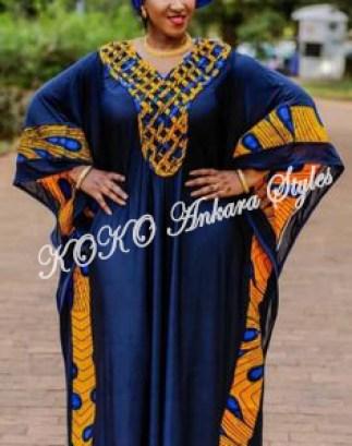 Ankara Styles: Maxi Ankara Gowns For The 'Mama D Mama'