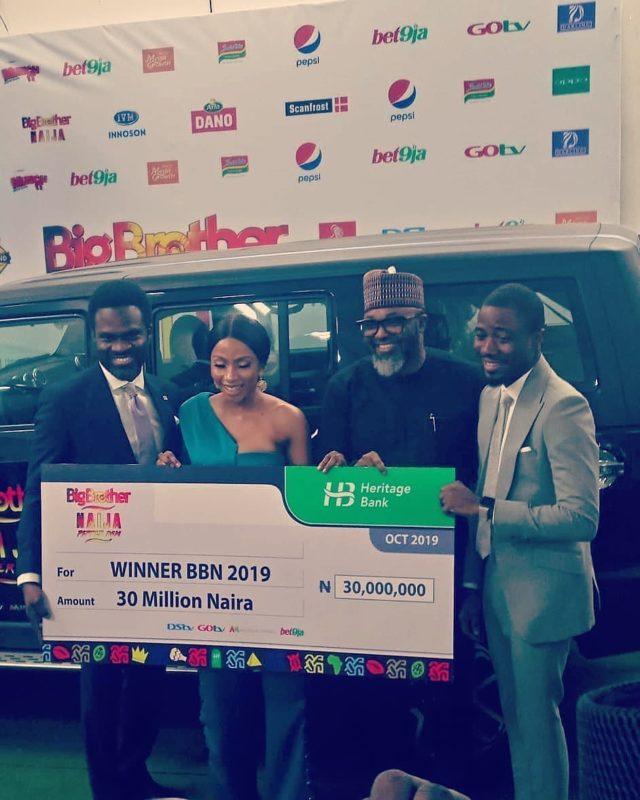 BBNaija: Mercy Receives Her N30million Cheque, Becomes Innosson Motors Brand Ambassador 3