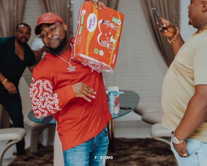 O-OBO: Davido's Unborn Child Gets Endorsement Deal 2