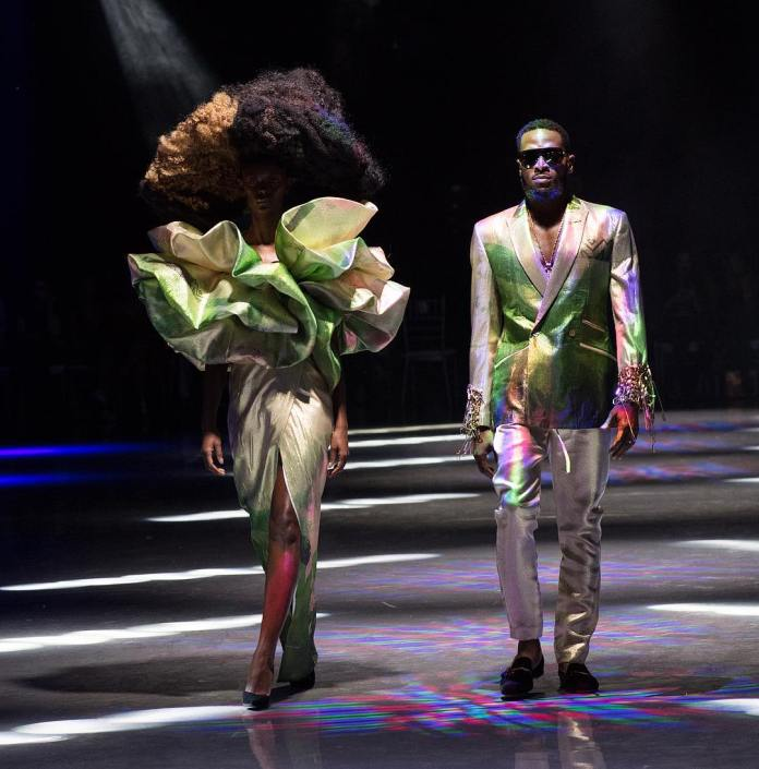 From Wizkid's Epic Dolce & Gabbana Show To Tiwa Savage's Catwalk For Fashion For Relief Walk, See How Nigerian Celebs Are Strutting It On The Runway 5