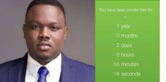 Like Don Jazzy, Dr Sid Celebrates 1st Anniversary Of Quitting Smoking