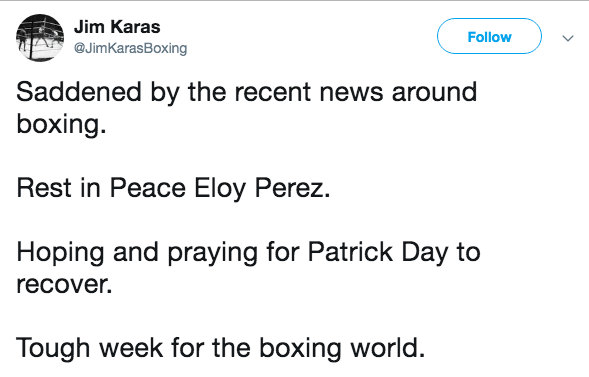Eloy Perez, Former Boxing Champion Dies At 32