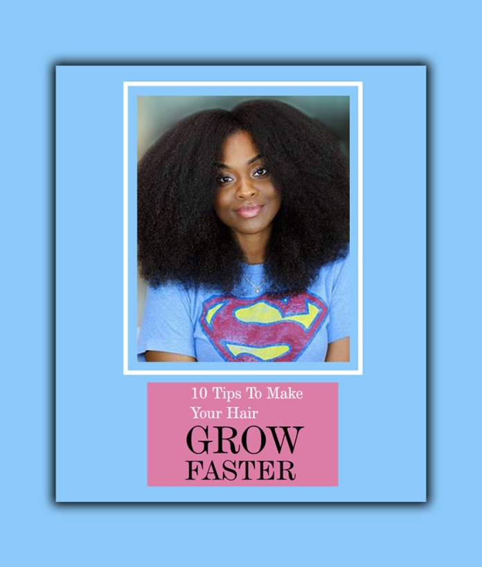 Beauty: 10 Tips To Make Your Hair Grow Faster And Healthier