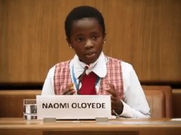 KOKO Junior: Meet Naomi Oloyede, The 11-Year-Old Who Represented Nigeria In Austria