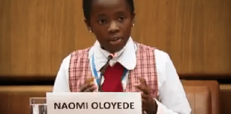 KOKO Junior: Meet Naomi Oloyede, The 11-Year-Old Who Represented Nigeria In Austria