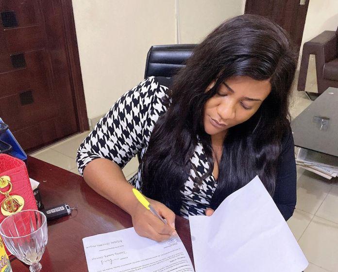 Nkechi Blessing Signs New Ambassadorial Deal, Blasts Trolls