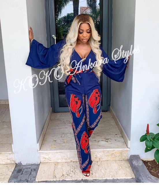 From Gowns To Jumpsuits: Lovely Ankara Styles For The Sisi Oge 2