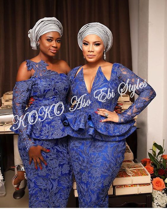 Herald Your Assets In These Magnifique Aso Ebi Styles