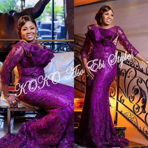 Be The Aso Ebi Queen In These Sparkling Reigning Styles 2