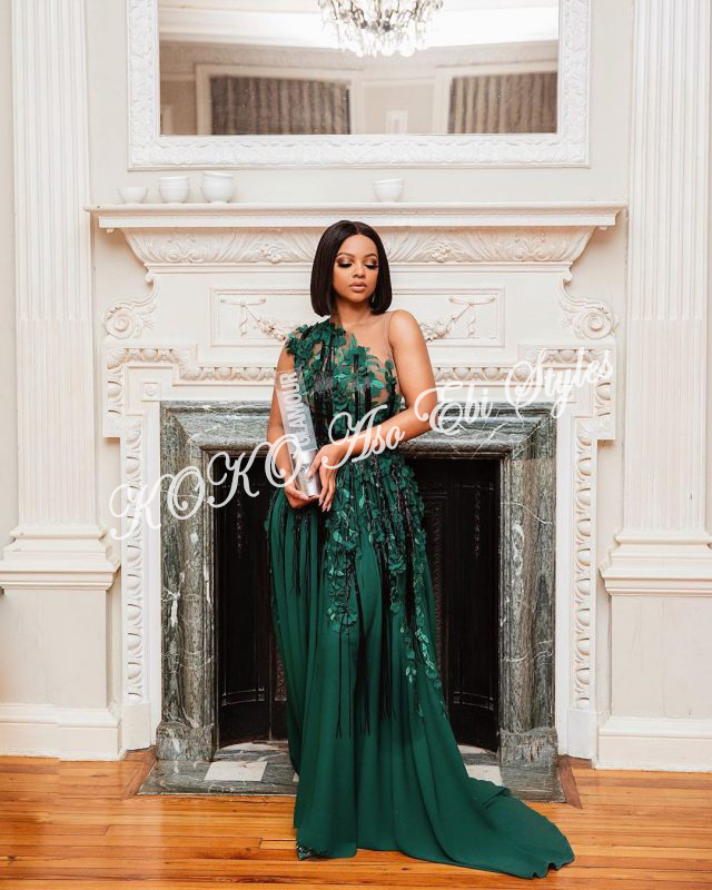 Hot And Fab Aso Ebi Styles For Your 1st Owambe In October