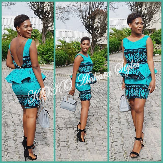 Brace Your Style With These Stunning Short Ankara Styles 3
