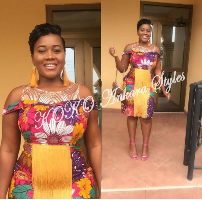 Brace Your Style With These Stunning Short Ankara Styles 4
