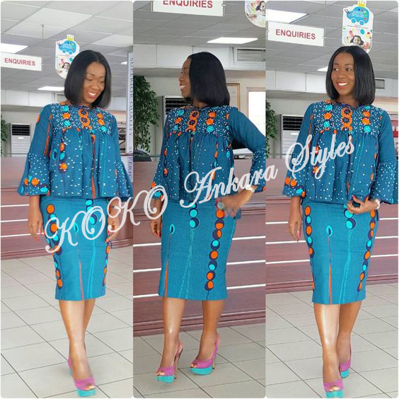 Set Forth Your Fashion Stamp In These Ankara Styles