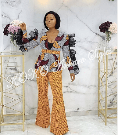 Hottie Hottie! Discover Your Hotness In These Ankara Styles