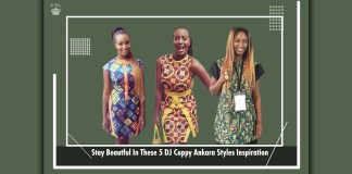 Stay Beautful In These 5 DJ Cuppy Ankara Styles Inspiration