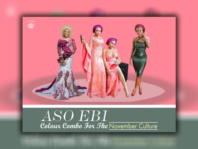 Aso Ebi Colour Combo Inspirations For The November Culture