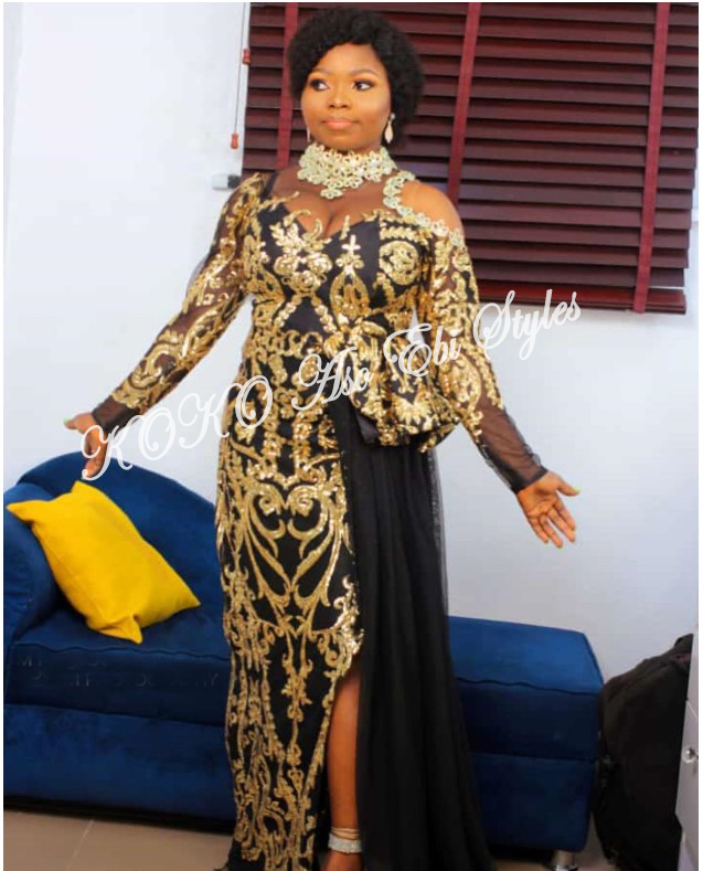 Pack On All Of The Glamour In These Bespoke Aso Ebi Styles 4