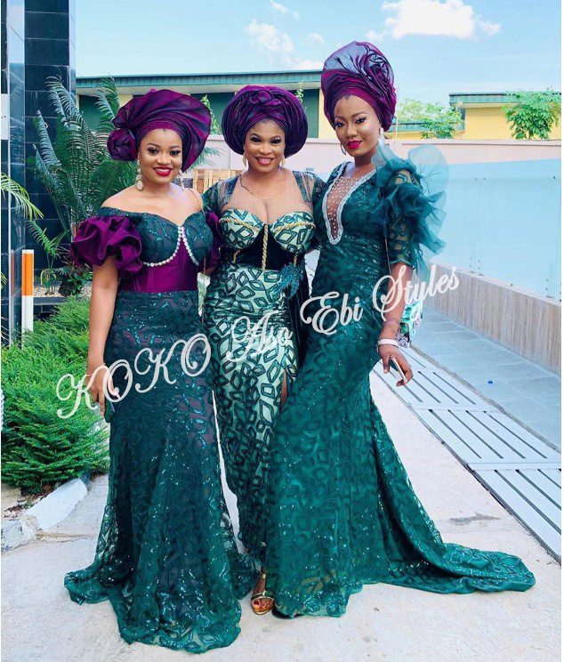 Pack On All Of The Glamour In These Bespoke Aso Ebi Styles 2