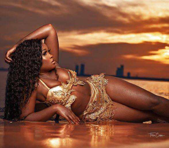 Cee-C Is Uber Sexy In New Snaps To Celebrate Her 27th B-day 2