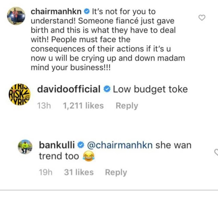 """""""Low Budget Toke! Davido Blasts TBoss Over Comment On The Girls' Arrest"""