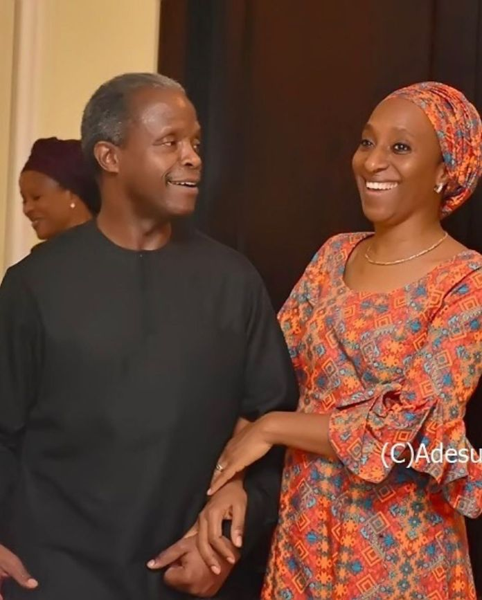 Hand In Hand: Yemi Osinbajo's Wife Dolapo Celebrates Their 30th Year Together 5