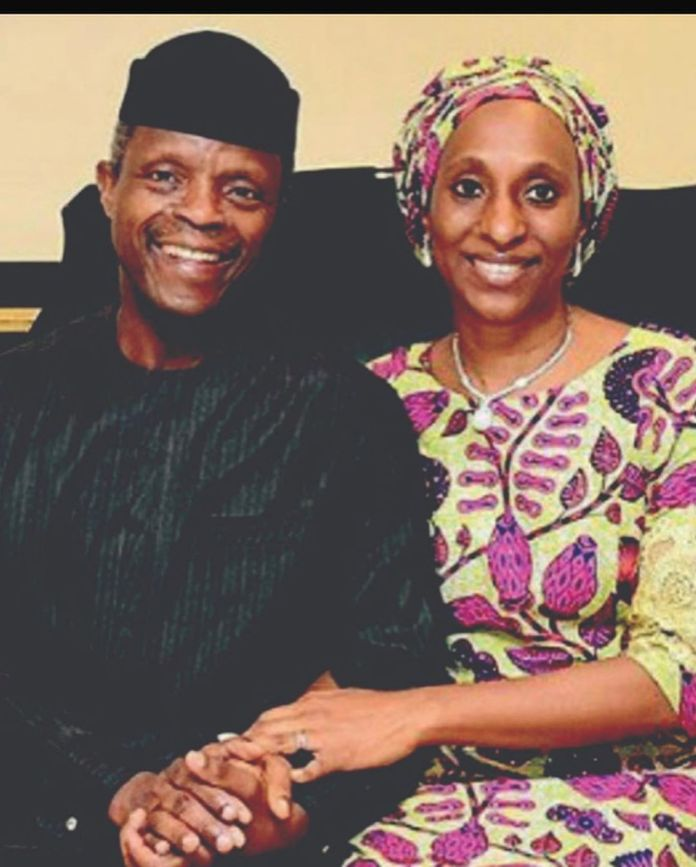 Hand In Hand: Yemi Osinbajo's Wife Dolapo Celebrates Their 30th Year Together 6