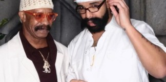 Drake Dresses Like Father For Halloween